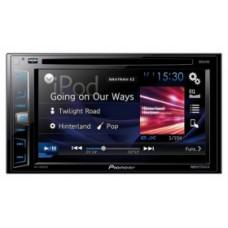 "PIONEER AVH X1800 DVD/2Din мультимедийная DVD / USB станция с 6,2"" ЖК экраном WVGA, 4X50 Вт, RGB"