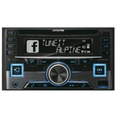 ALPINE CDE-W296BT /2 din магнитола, CD, BT, USB, MP 3,iPod/iPhone /