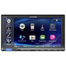 """ALPINE ICS-X8/мультимедиа 2-din,DVD, iPod,USB,дисплей 7"""" многоцветный/"""