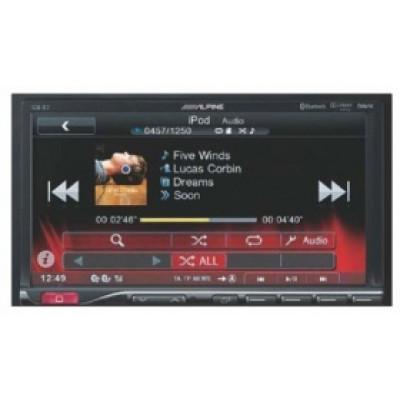 """ALPINE ICS-X7/мультимедиа 2-din,DVD, iPod,USB,дисплей 7"""" многоцветный/"""