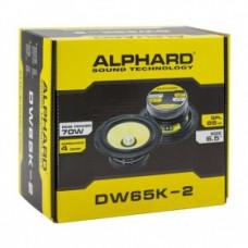 Alphard DW65K2 16.5см