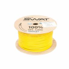 SWAT APS-085Y /силовой кабель 8Ga/8мм-50м/кат.жёлтый(+)/