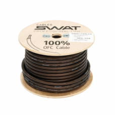 SWAT APS-045B /силовой кабель 4Ga/20мм-30м/кат.черный(-)/