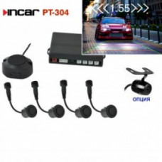 INCAR PT-304B /видеопарктроник 4 датч.Black/