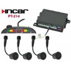 INCAR PT-214M /парктроник 4 датч.матовый, контроль мертвых зон/