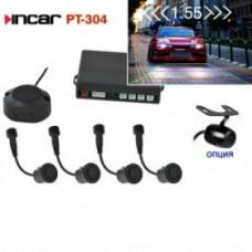 INCAR PT-304S /видеопарктроник 4 датч.Silver/