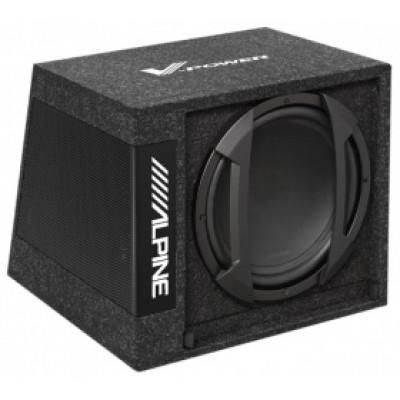 ALPINE SWD 355 /активный сабвуфер,12d,650Вт MAX,фазоинверторный корпус/