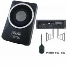 """INCAR INT-803SW /сабвуфер 8"""" rem.control/"""